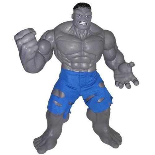 Boneco Gigante Hulk Cinza Premium Mimo Brinquedos