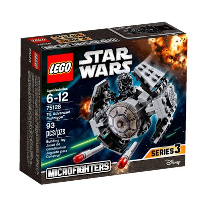 Lego Star Wars Tie Advanced Prototype 93 Peças 75128