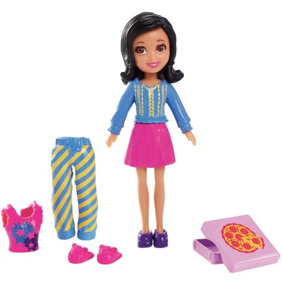 Boneca Polly Pocket Mattel Casa Divertida - Crissy