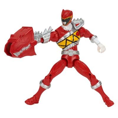 Boneco Power Ranger Dino Charger Armadura de Luxo Ranger Vermelho Sunny Brinquedos