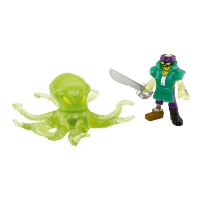 Boneco Aventura Pirata Fantasma Imaginext Serie 6 Fisher Price