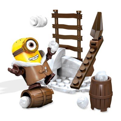 Mattel Mega Bloks - Minions Snowball Fight 25 Peças