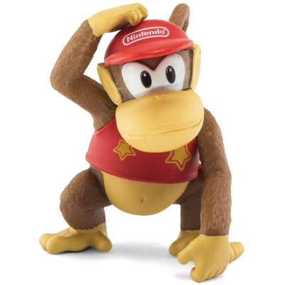 Boneco World Of Nintendo Super Mario Bros Diddy Kong Dtc