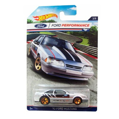 Carrinho Hot Wheels Série Clássicos Ford Mustang Racing - 72 Ford Mustang Mattel