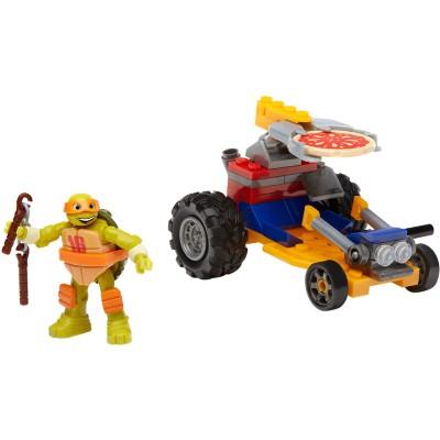 Mattel Mega Bloks Tartarugas Ninja Animation Veículo Michelangelo Dmx36/dmx38