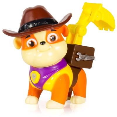 Figura Com Mecanismo Patrulha Canina Série Heróis Cowboys Rumble Sunny Brinquedos