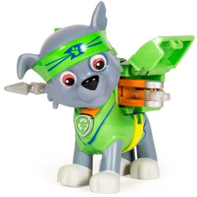 Boneco Patrulha Canina Série Heróis Karatê Rocky Sunny Brinquedos
