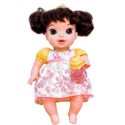 Boneca Princesas da Disney Mimo Brinquedos Baby Bela 6455