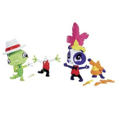 Littlest Pet Shop Penny Link e Vinnie Terrio - Hasbro