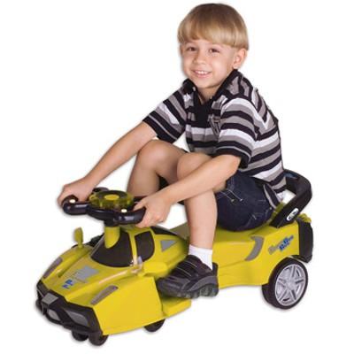 Gira Gira Car Amarelo Fênix