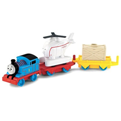 Conjunto Thomas & Friends Trackmaster Thomas e Harold Gira-gira Fisher Price