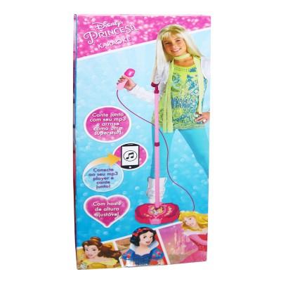 Karaokê Com Microfone Disney Princesas Toyng