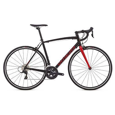 Bicicleta Specialized Allez Sport T52 Aro 700 Rígida 9 Marchas - Preto/vermelho
