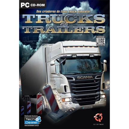 Jogo Euro Truck Simulator 2 Mega Pack Tech Dealer - Pc