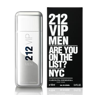 Perfume 212 Vip Men Carolina Herrera Eau de Toilette Masculino 100 Ml