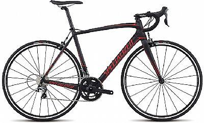 Bicicleta Specialized Tarmac Sl4 T56 Aro 700 Rígida 10 Marchas - Preto/vermelho