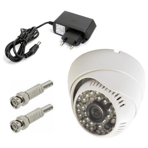 Câmera Power Xl Dome Ccd Infra Vermelho 48 Leds 50mts 1000 Linhas 3,6 - Ap2005-48b