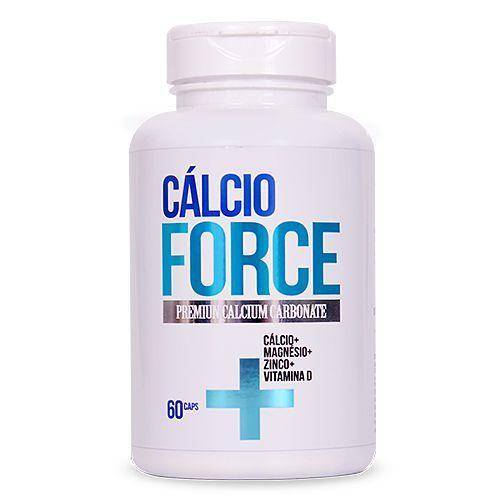 Saude Garantida Cálcio Force - Vitamina D, Magnésio e Zinco 60 Caps