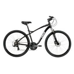 Bicicleta Caloi Easy Rider Aro 700 Susp. Dianteira 21 Marchas - Preto