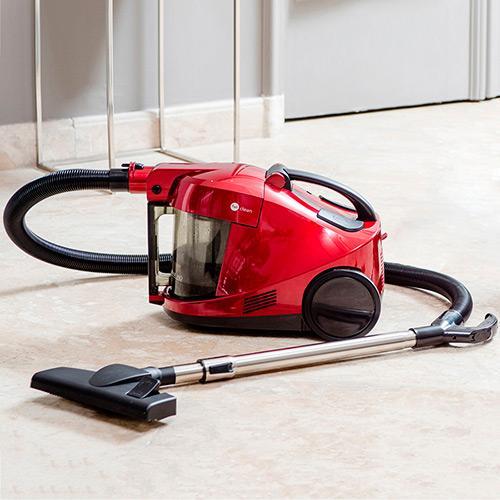 Aspirador Água e Pó Fun Clean 2,5l - 220v - Acqua Power Vermelho