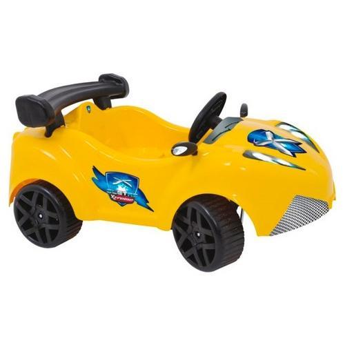 Mini Carro Xalingo Xtreme 6v Com Controle Remoto - Amarelo