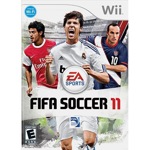 Jogo Fifa 11 - Wii - Ea Sports