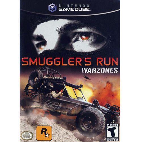 Jogo Smugglers Run Warzones - Game Cube - Rockstar Games