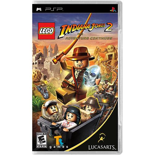 Jogo Lego Indiana Jones 2 - The Adventure Continues - Psp - Lucasarts