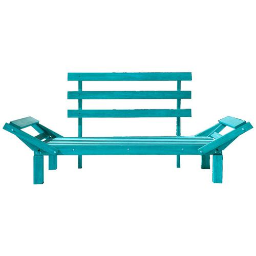 Country Comfort S/almofada Madeira Azul Ccsfsaz Mão e Formão