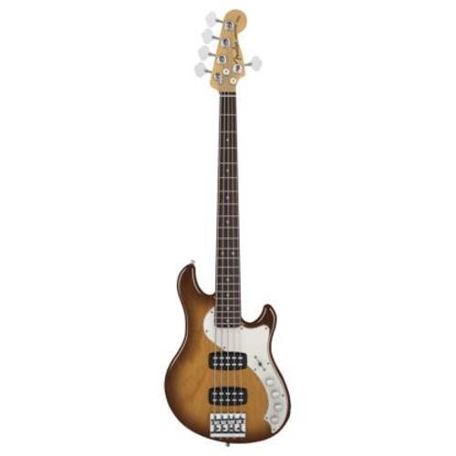 Baixo Elétrico Deluxe Dimension Bass Fender Sunburst 5 Cordas