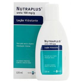 Nutraplus 10% Locao Fr 120ml - Ureia - Galderma
