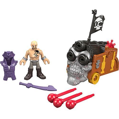 Boneco Imaginext Pirata Básico Mattel