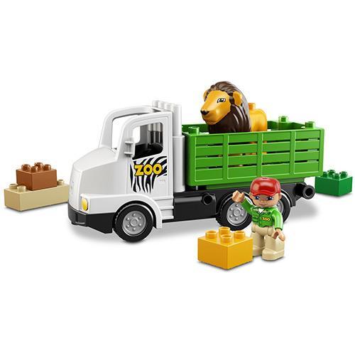 Lego Duplo Caminhão do Zoológico 6172