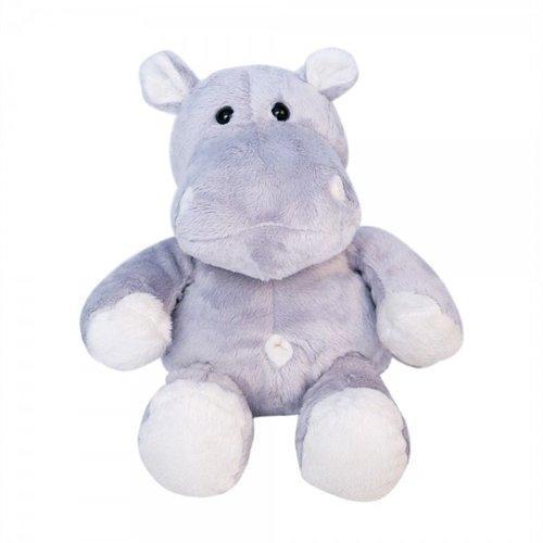 Pelúcia Hipopótamo - Safari Baby Cinza/creme Br245czcr Apaixonados por Pelúcia