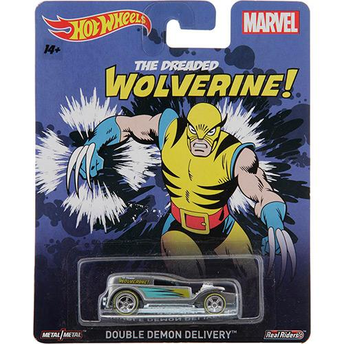 Carrinho Hot Wheels Heróis Marvel Wolverine Mattel