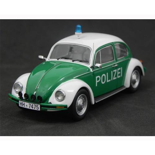 Carrinho Volkswagen Kaefer Fusca 1200 Polizei 1:43 Schuco