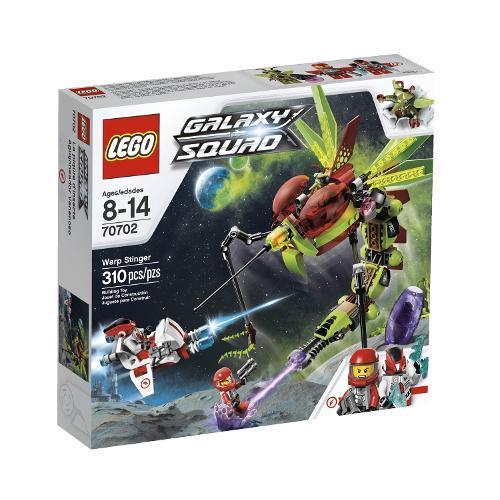 Lego Galaxy Squad Ferrão Contorcido 310 Peças 70702
