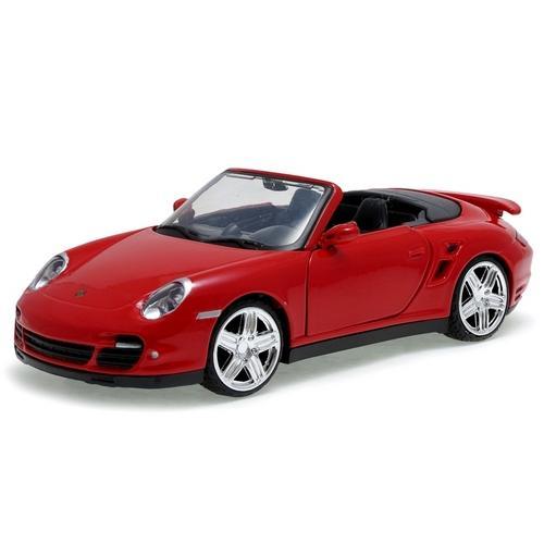 Carrinho Porsche 911 Turbo Cabriolet 1:24 Motormax