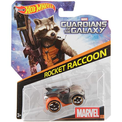 Carrinho Hot Wheels Marvel Rocket Raccoon 1:64 Cbd31/0511 Mattel