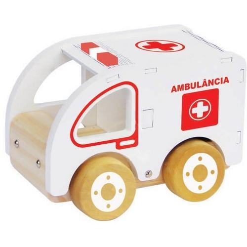 Carrinho Ambulância New Art Toys