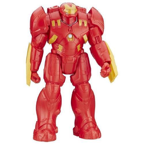 Boneco Vingadores Titan Hero 28cm Hulkbuste Hasbro