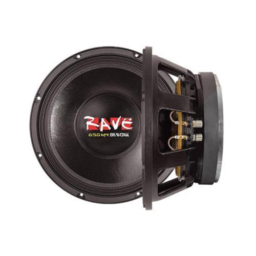 Alto-falante Bravox 650 W Rms Rv12mrs4