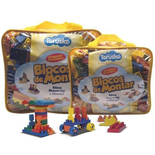 Lymdecor Brinquedos Pedagógicos Legos Conectando Idéias 250 Peças 151