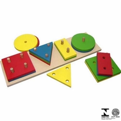 Jogo Educativo Prancha de Seleção Gigante Carlu Brinquedos