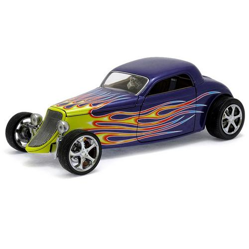 Carrinho Ford Coupe 1933 1:18 Shyne Rodz Collection Yat Ming