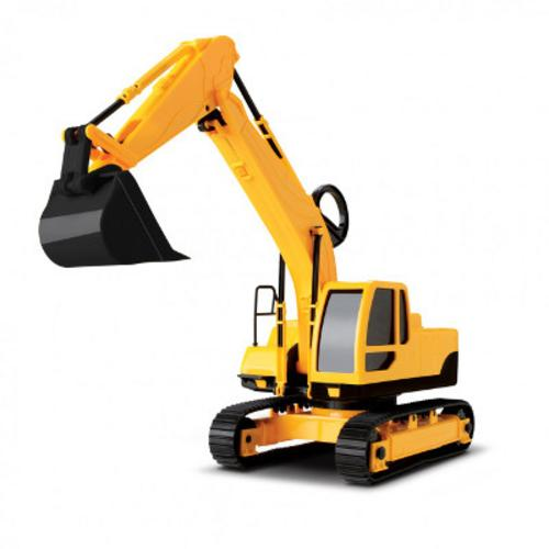 Trator Escavadeira Workers 0343 Roma Brinquedos