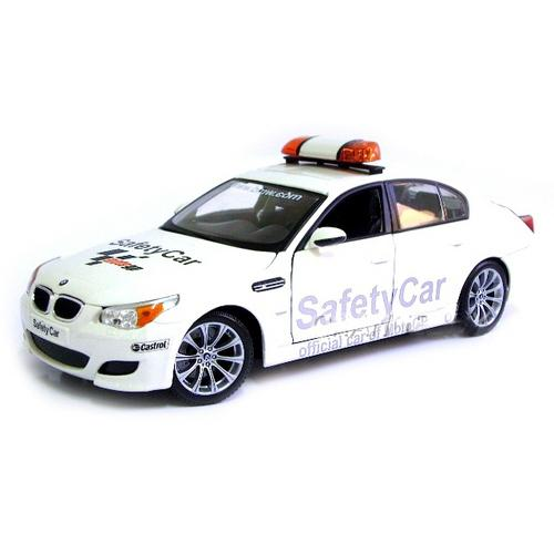 Carrinho Bmw M5 Safety Car Moto Gp 2007 1:18 Premiere Edition Maisto
