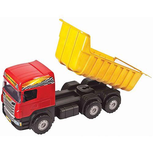 Caminhão Super Caçamba Vermelho Magic Toys