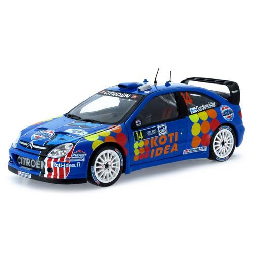 Carrinho Citroen Xsara Wrc 2006 Rally 1:18 Sunstar