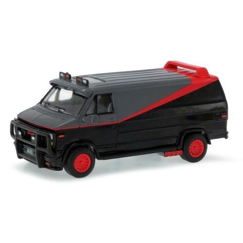 Carrinho Furgão Esquadrão Classe a (a Team) Gmc Hot Wheels Elite One 1:50 Mattel
